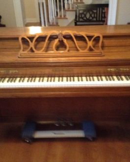 Chickering Console Piano